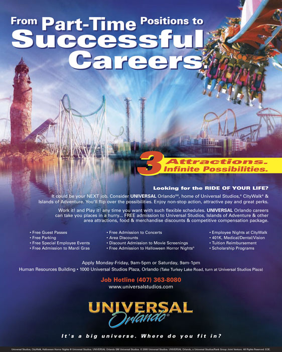 target market universal studios Universal studios hollywood is a film studio and theme park in the city  the  target market for each of these products is clear and distinct, yet.